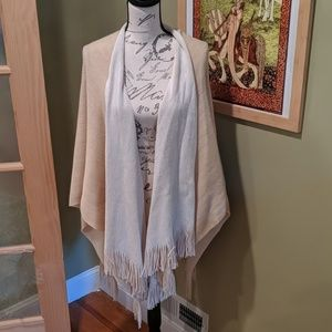 Shawl Wrap Two Color Reversible